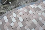 Мощение тротуарной плиткой