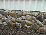 Природный Бутовый камень для фундамента с доставкой