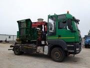 Дробилка для дерева Jenz HEM 540 на базе MAN TGS