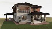 дизайн и проектирование  помещений и фасадов зданий,  ладшафтный дизай